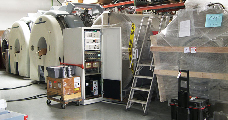 Store your equipment in our onsite cold storage facility